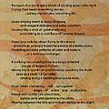 Jazz Changes - Poem W Abstract Loops by Anita Burgermeister