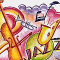 Jazz Deco by Mel Thompson