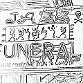 Jazz Funeral Sketch by Jim Chamberlain