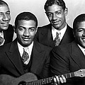 Jazz Vocal Quartet The Mills Brothers by Everett