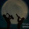 Jazzing At The Moon by Damion Powell