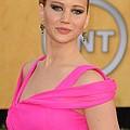 Jennifer Lawrence Wearing An Oscar De by Everett