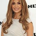 Jennifer Lopez Wearing A Gucci Dress by Everett