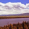 Jenny Lake Panorama by Rich Walter