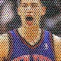 Jeremy Lin Mosaic by Paul Van Scott