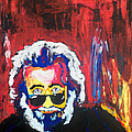 Jerry Garcia by Ann Marie Napoli