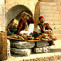 Jerusalem Bread Sellers 1895 by Padre Art