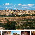 Jerusalem Poster by Munir Alawi
