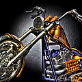Jesse James Bike Detroit Mi by Nicholas  Grunas