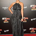 Jessica Alba Wearing A Dress By Dolce & by Everett