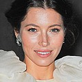 Jessica Biel  Wearing Fred Leighton by Everett
