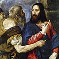 Jesus & Tribute Money by Granger