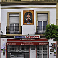 Jesus And The Cerveceria by Mary Machare