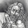 Jesus At Rest by Vincnt Clark