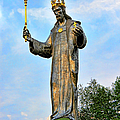 Jesus Christ Statue by Mariola Bitner