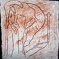 Jesus The Good Shepherd - Tile by Gloria Ssali