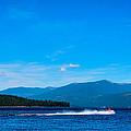 Jet Ski On Priest Lake by David Patterson