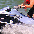 Jet Ski Speed by Roena King