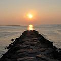 Jetty Sunrise by Bill Cannon