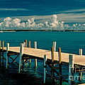 Jetty To Stocking Island by Michael Canning