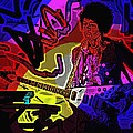 Jimi Hendrix Number 22 by George Pedro