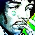 Jimi Hendrix by Randall Weidner