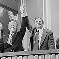 Jimmy Carter And Walter Mondale by Everett