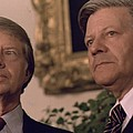Jimmy Carter Meeting With German by Everett