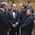 Jimmy Carter Richard Nixon And Deng by Everett