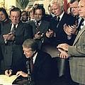 Jimmy Carter Signs Airline Deregulation by Everett