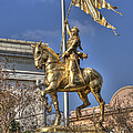 Joan Of Arc Statue New Orleans by Jim And Emily Bush