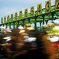 Jockeys Leaving Starting Gates by The Irish Image Collection
