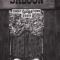 Joes Saloon In Calico Ghost Town California by Susanne Van Hulst