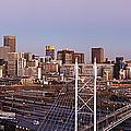 Johannesburg Skyline And Railway Station by Jeremy Woodhouse