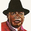 John Lee Hooker by Emmanuel Baliyanga