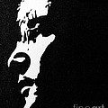 John Lennon Hi Contrast by Kenneth Regan
