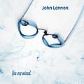 John Lennon Tribute . fractal abstract