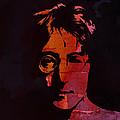 John Lennon Watercolor by Steve K