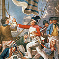 John Paul Jones Shooting A Sailor Who Had Attempted To Strike His Colours In An Engagement by John Collet