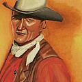 John Wayne by Victoria Rhodehouse