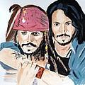 Johnny Depp X 2 by Audrey Pollitt