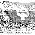 Johnstown Flood: Dam, 1889 by Granger