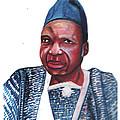 Joseph Ki-zerbo by Emmanuel Baliyanga