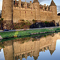 Josselin Chateau by Jane Rix