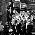 Jrotc Carrying Flag In The Parade by Gray  Artus