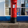 Jubilee Postbox by Dickon Thompson