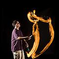 Juggling Fire by Ted Kinsman