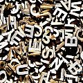 Jumbled Letters by Simon Bratt Photography LRPS