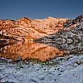 June Snowfall At Angel Lake by Greg Nyquist