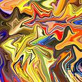 Just Abstract Viii by Chris Butler